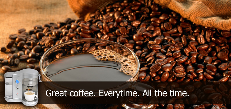 Great coffee. Everytime. All the time.